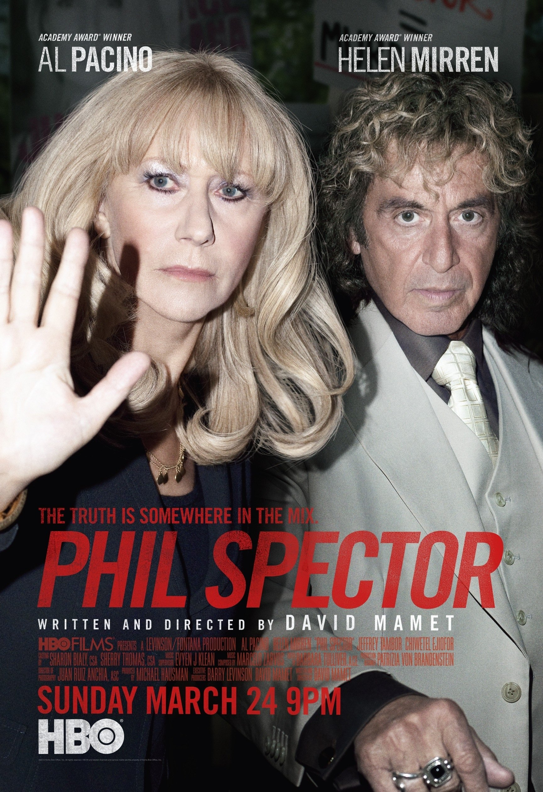 affiche du film Phil Spector (TV)