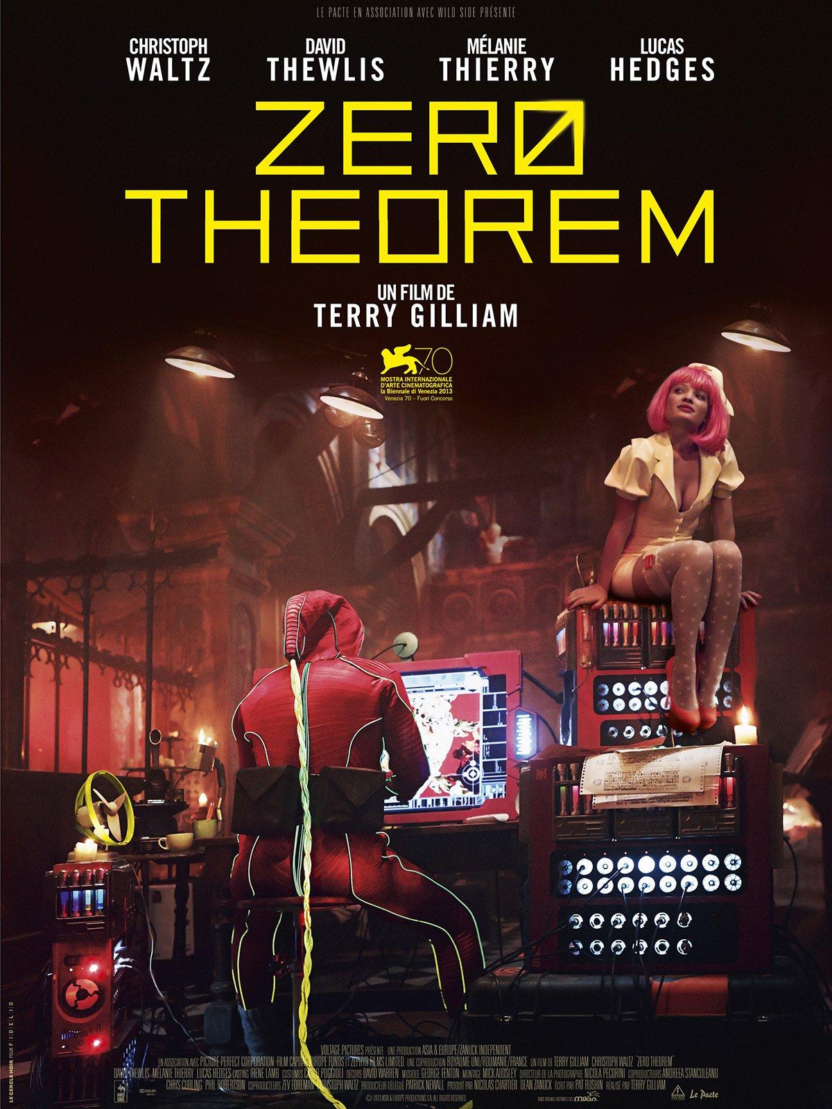affiche du film Zero Theorem