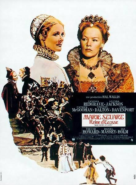 affiche du film Marie Stuart, reine d'Écosse