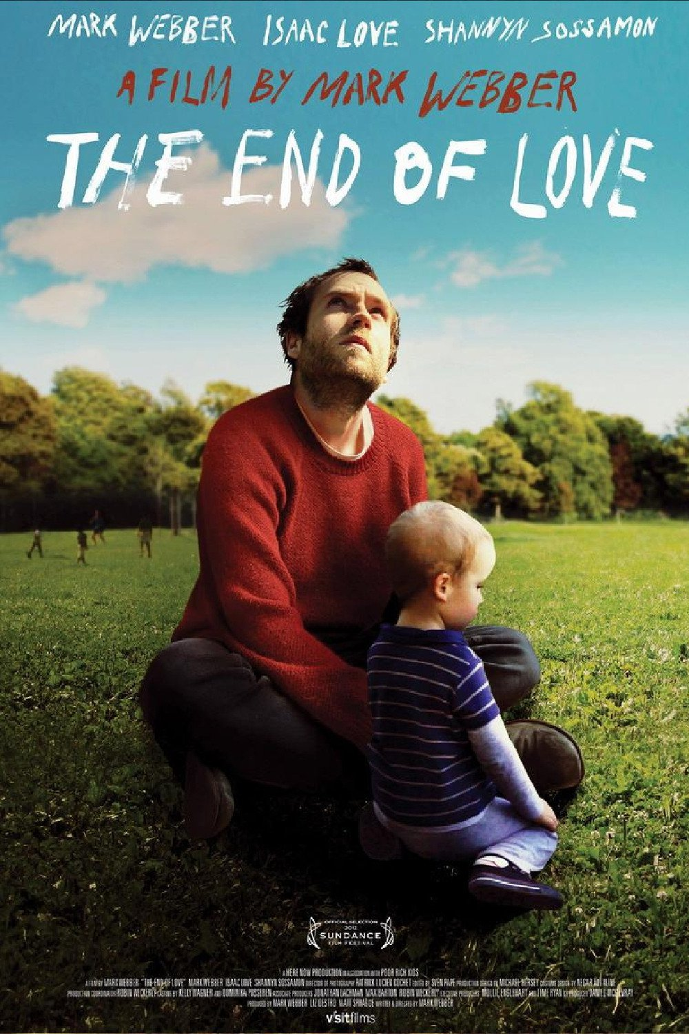 affiche du film The End of Love