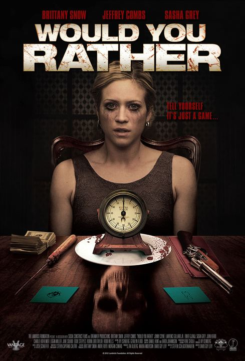 affiche du film Would You Rather