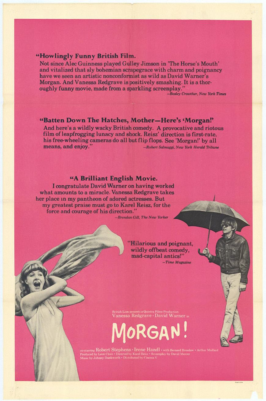 affiche du film Morgan (1966)