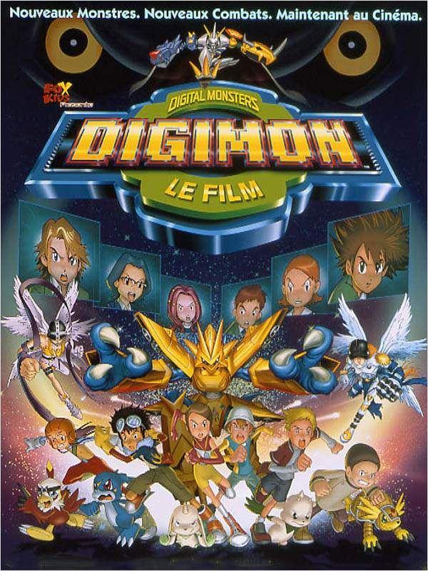 affiche du film Digimon, Le film