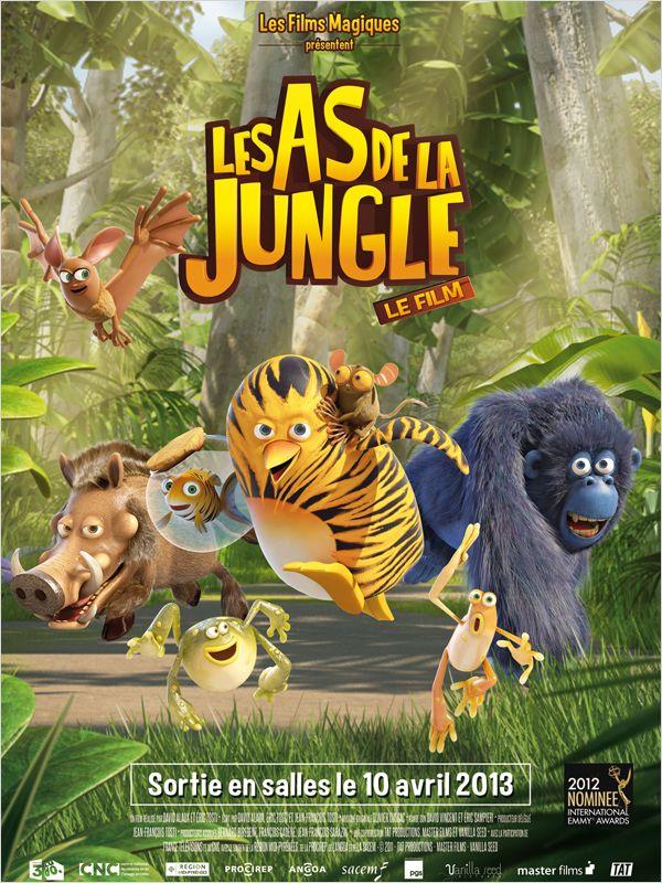 affiche du film Les As de la Jungle : Opération banquise (TV)