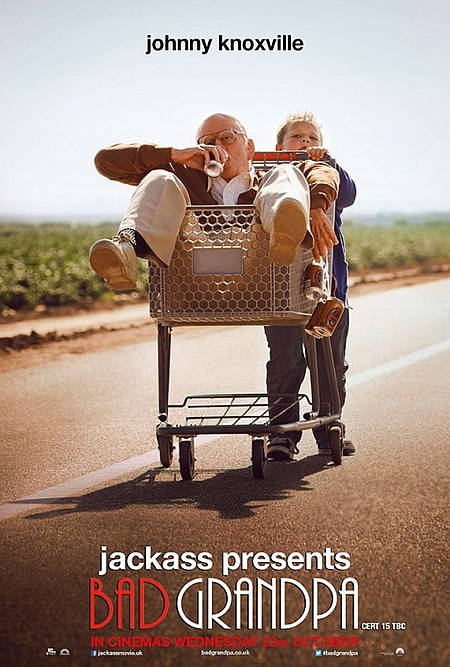 affiche du film Jackass: Bad Grandpa