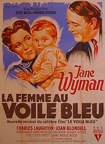 affiche du film La Femme au voile bleu