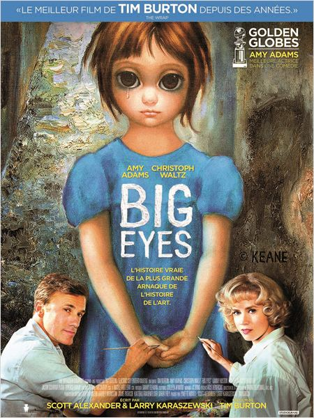 affiche du film Big Eyes