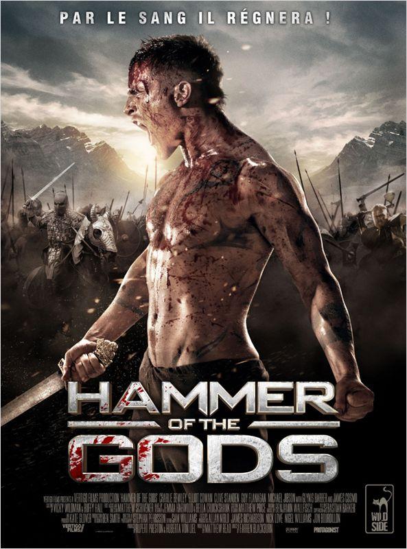 affiche du film Hammer of the Gods