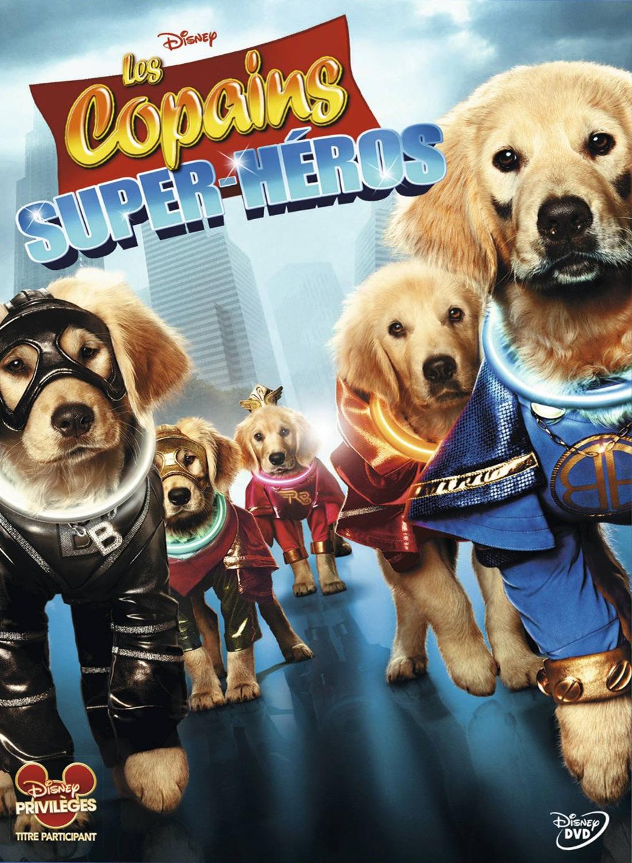 affiche du film Les copains super-héros