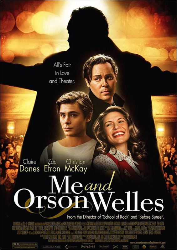 affiche du film Me And Orson Welles