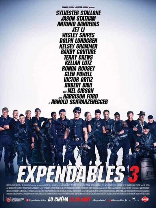 affiche du film Expendables 3 : Unité spéciale