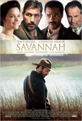 affiche du film Savannah