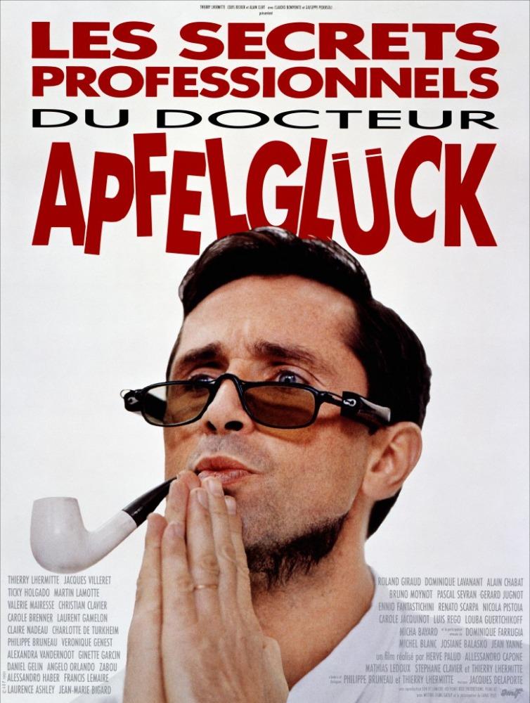affiche du film Les Secrets professionnels du Dr Apfelglück