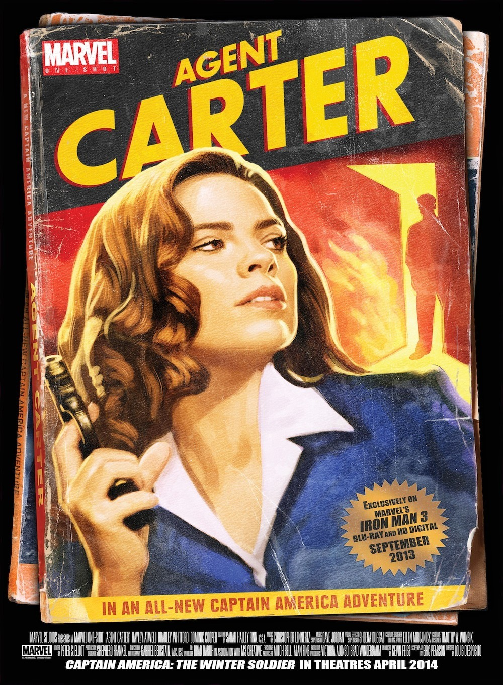 affiche du film Agent Carter