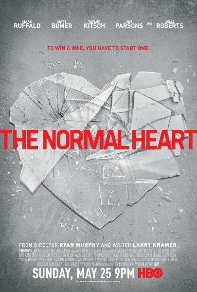 affiche du film Un cœur normal (TV)