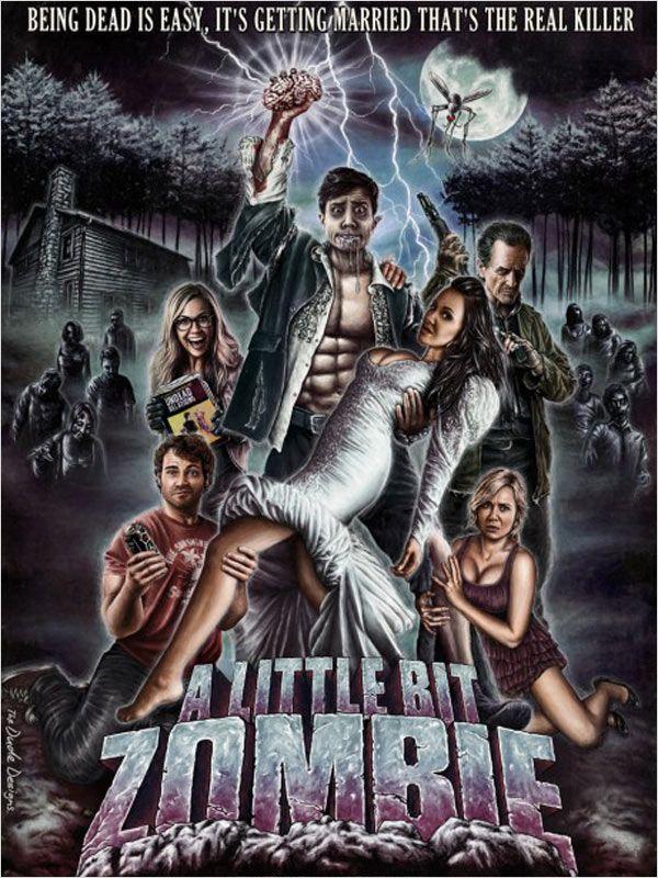 affiche du film A Little Bit Zombie