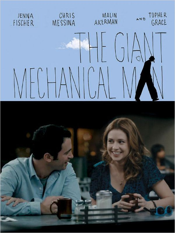 affiche du film The Giant Mechanical Man