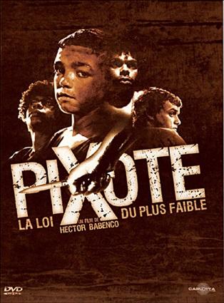affiche du film Pixote, la loi du plus faible