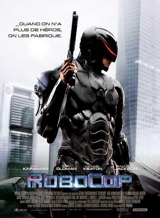 affiche du film RoboCop (2014)