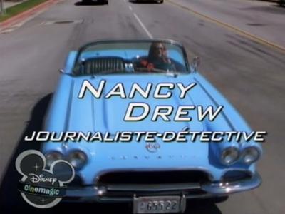 affiche du film Nancy Drew, journaliste-détective (TV)