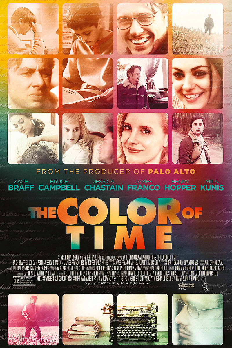 affiche du film The Color of Time