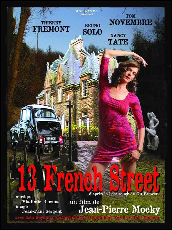 affiche du film 13 French Street