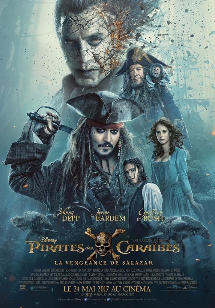 affiche du film Pirates des Caraïbes : La vengeance de Salazar