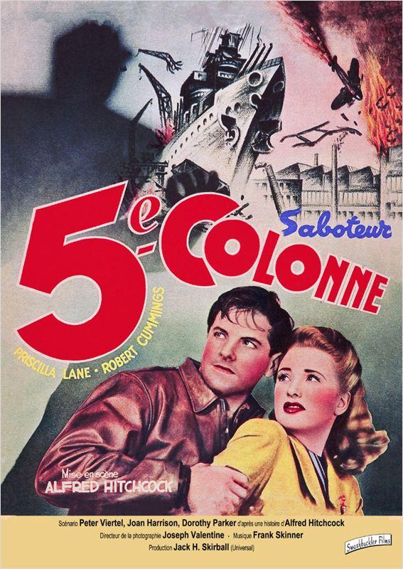 affiche du film La cinquième colonne
