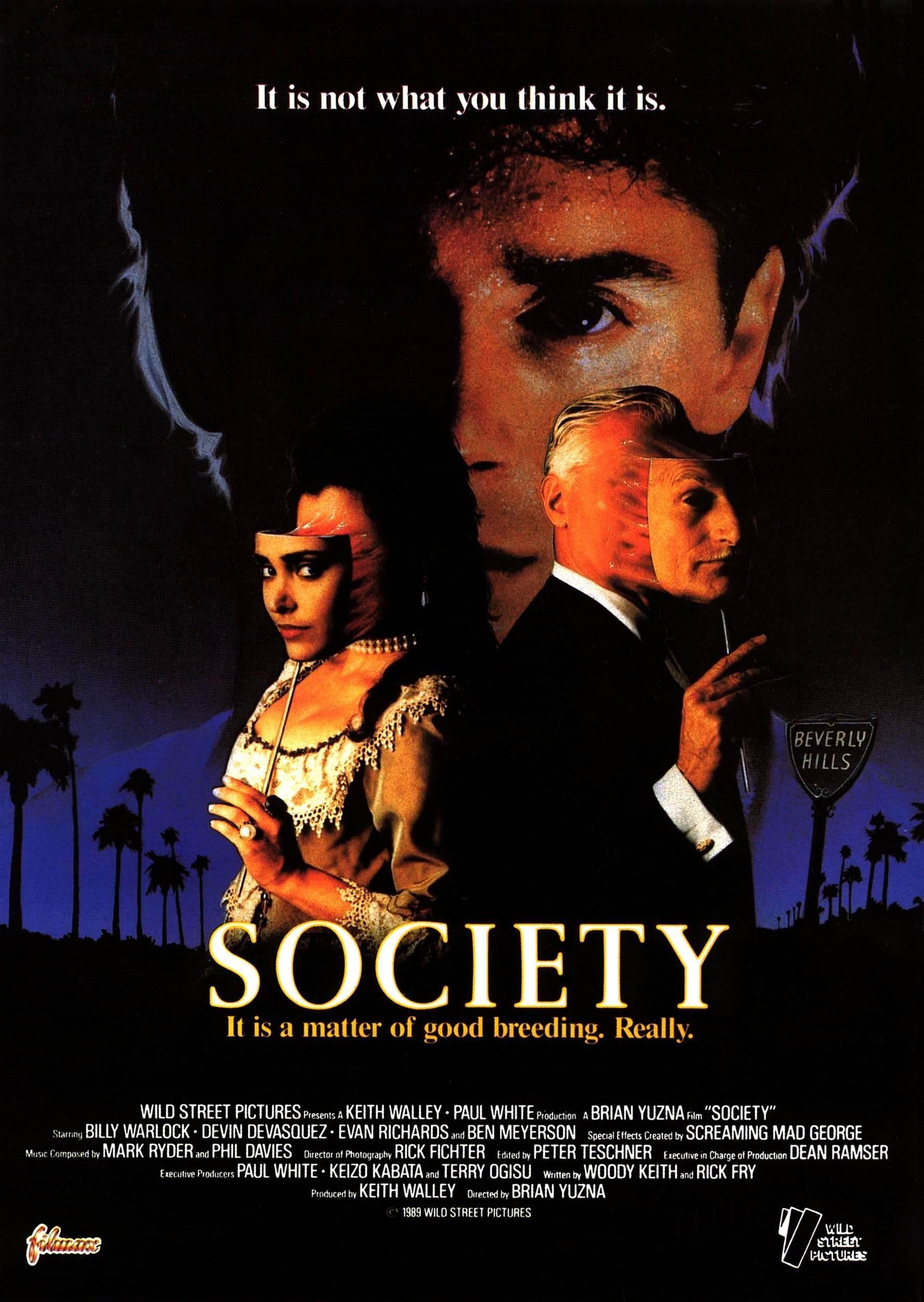 affiche du film Society