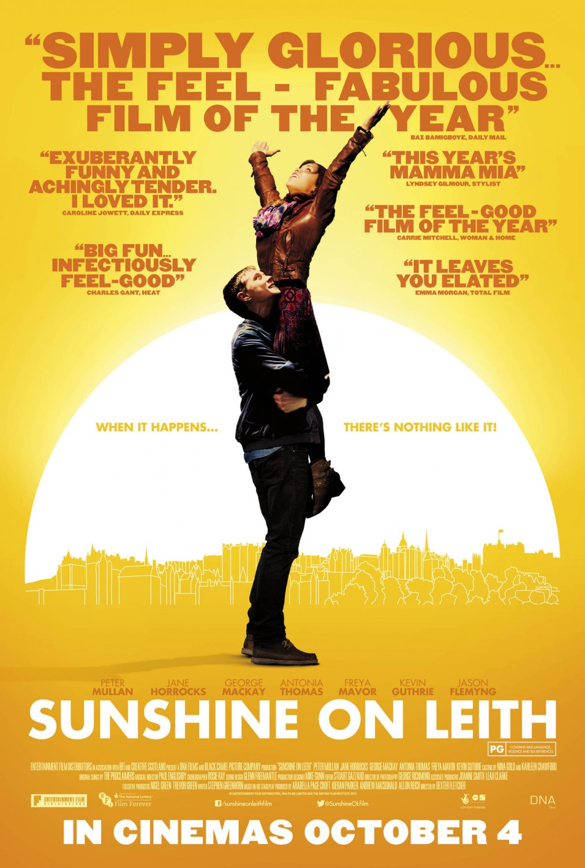 affiche du film Sunshine on Leith
