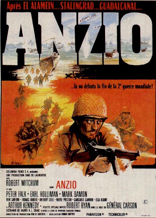 affiche du film La Bataille pour Anzio
