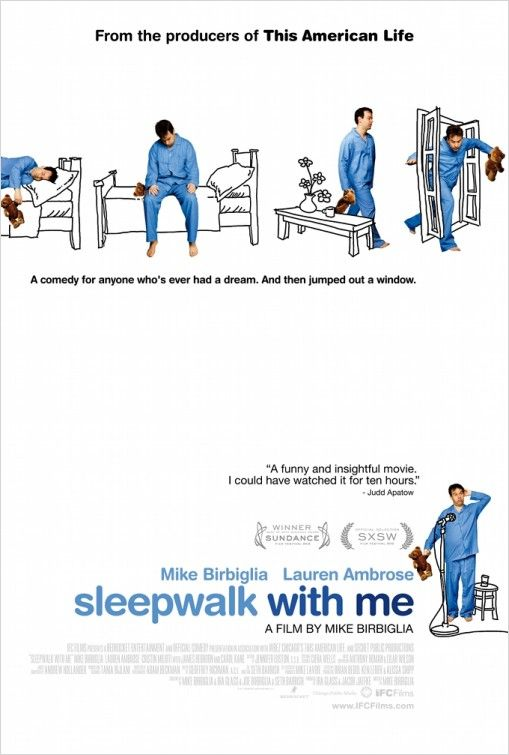 affiche du film Sleepwalk with Me