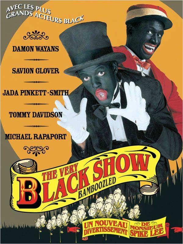 affiche du film The Very Black Show