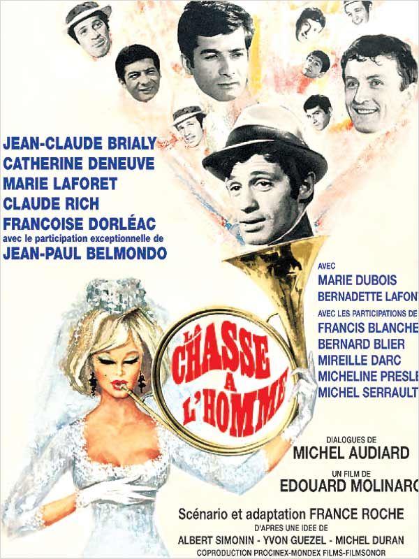 affiche du film La Chasse à l'homme