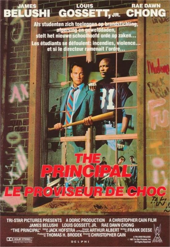 affiche du film Le Proviseur