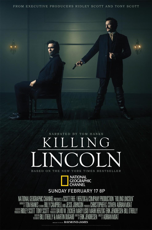 affiche du film Killing Lincoln (TV)
