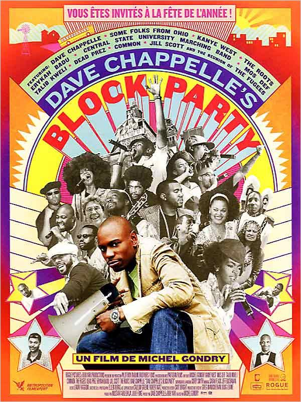 affiche du film Dave Chappelle's Block Party