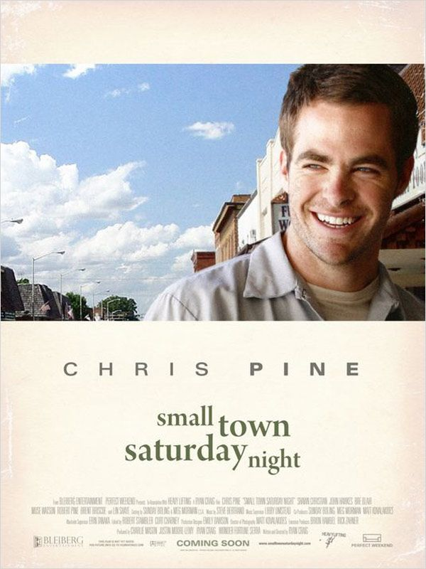 affiche du film Small Town Saturday Night