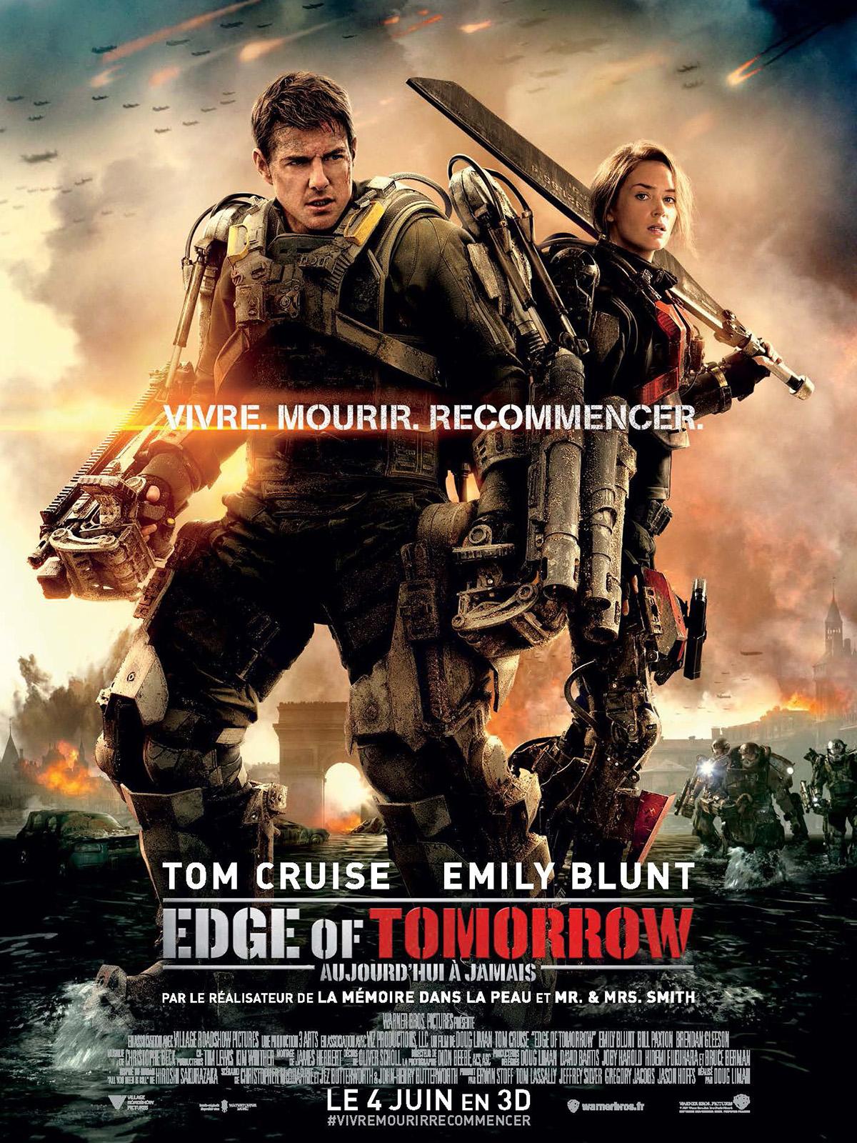 affiche du film Edge of Tomorrow