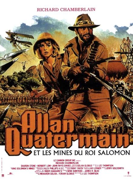affiche du film Allan Quatermain et les Mines du roi Salomon