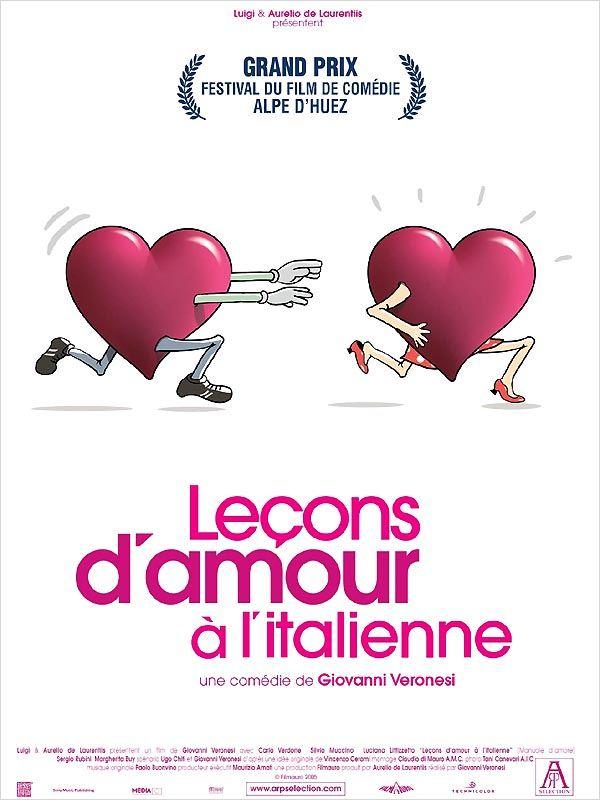 affiche du film Leçons d'amour à l'Italienne
