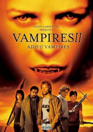 affiche du film Vampires II: Adieu vampires