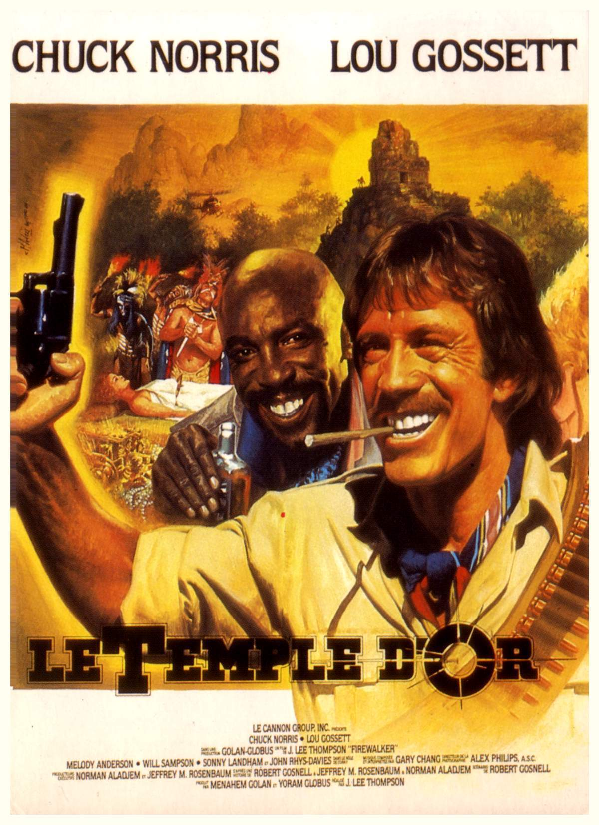 affiche du film Le Temple d'or