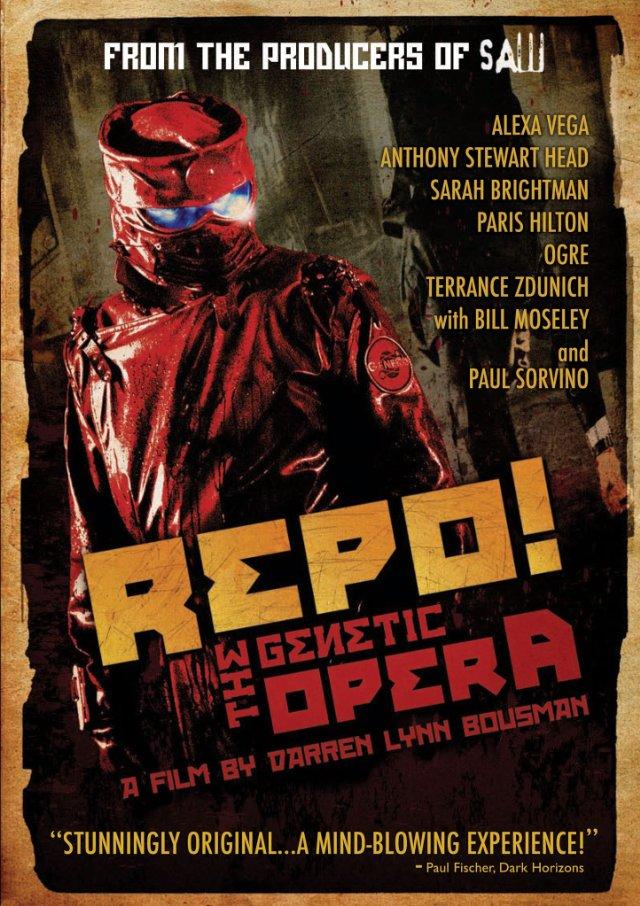 affiche du film Repo! The Genetic Opera