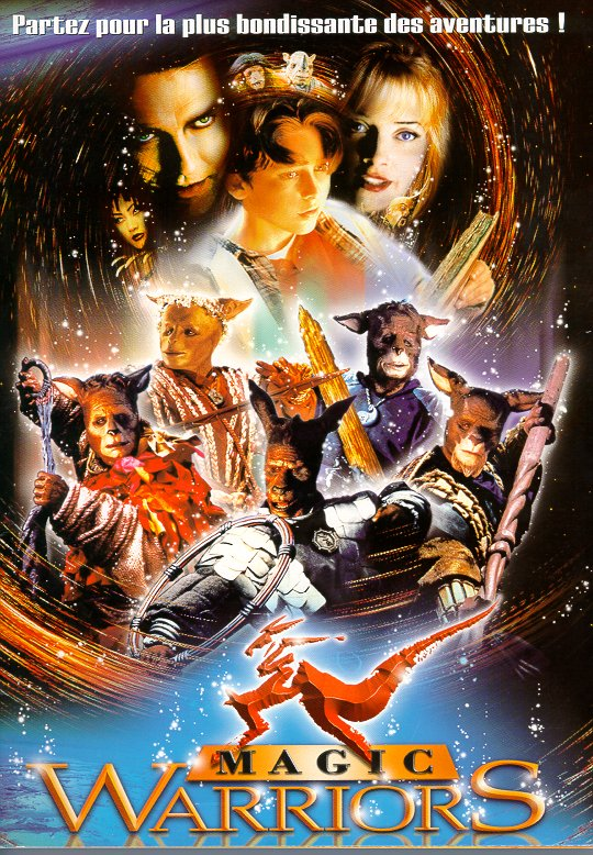 affiche du film Magic Warriors