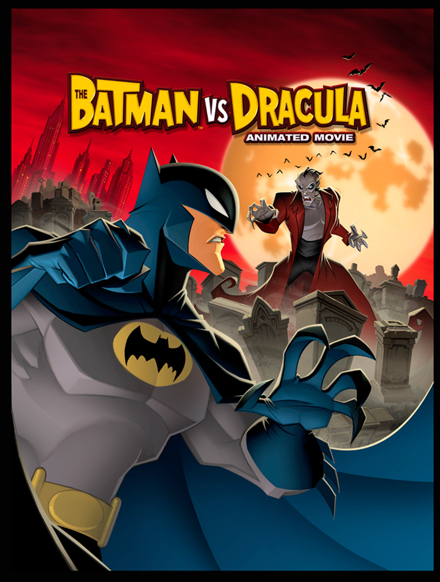 affiche du film The Batman vs. Dracula