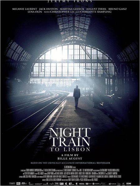affiche du film Train de nuit pour Lisbonne