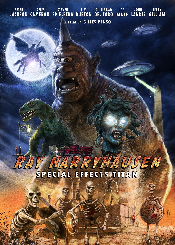 affiche du film Ray Harryhausen : Le Titan des effets spéciaux