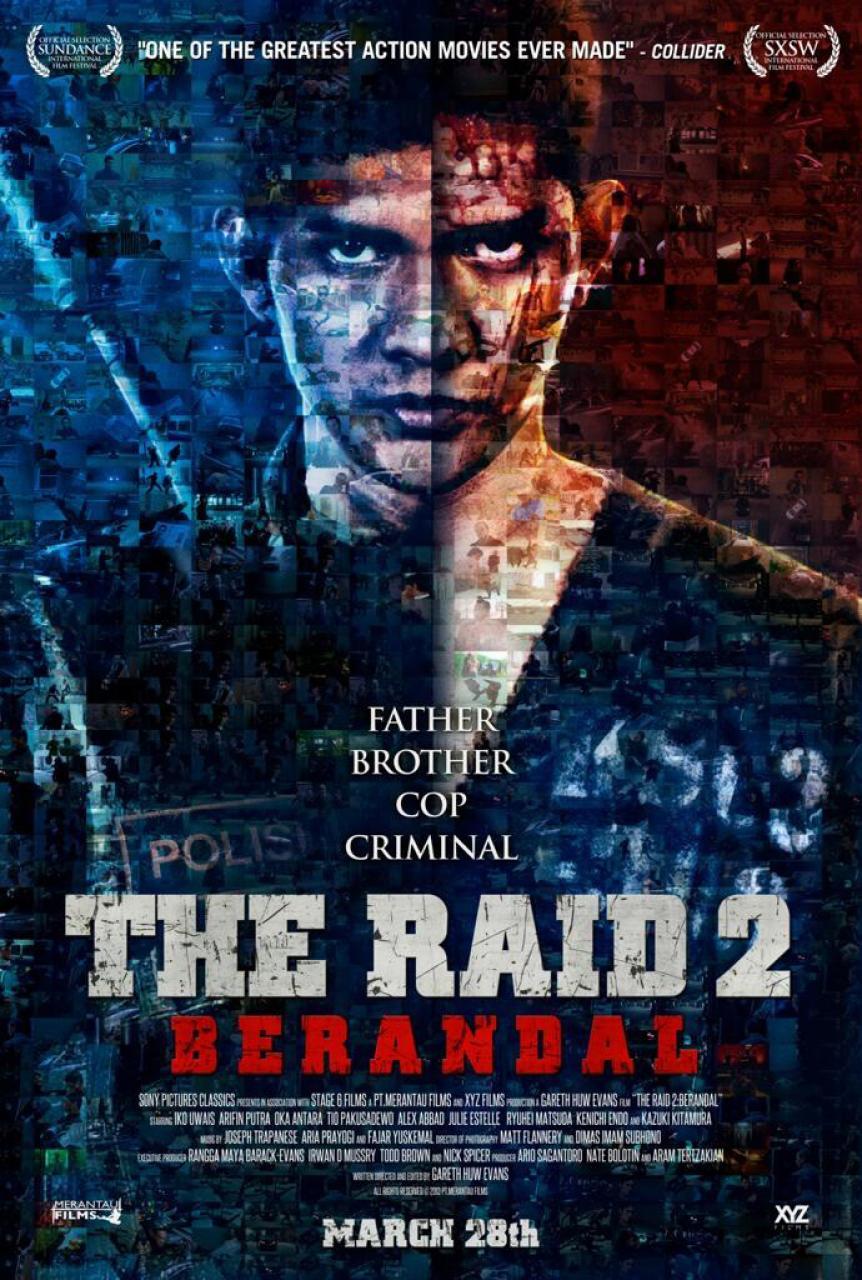 affiche du film The Raid II: Berandal