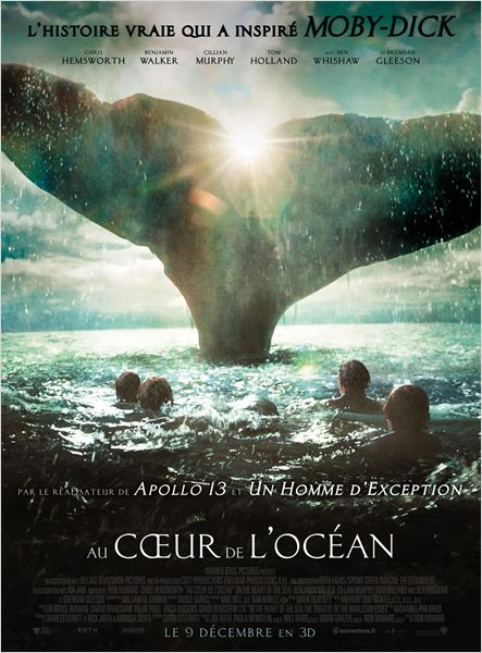 affiche du film Au cœur de l'océan